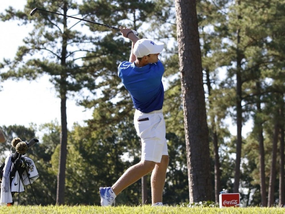 Adam Wood finished at even-par as the Blue Devils struggled at the Hootie at the Bull's Bay Intercollegiate.