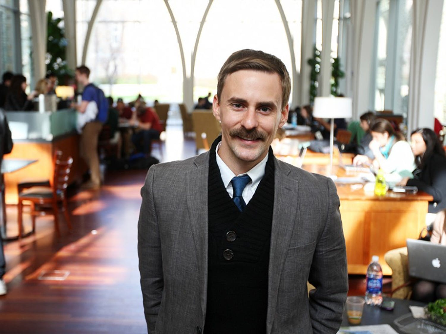 Will Evans is a second-year master's candidate in Slavic and Eastern European and Eurasian studies.
