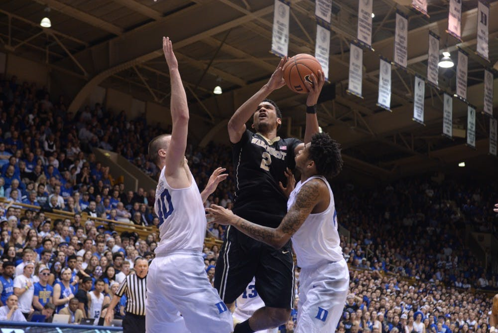 <p>Led by forward Devin Thomas, Wake Forest has already come close to knocking off the Blue Devils twice this season, but will need to get past N.C. State first to earn another crack at Duke.</p>