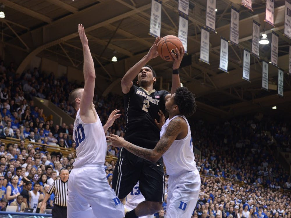 Led by forward Devin Thomas, Wake Forest has already come close to knocking off the Blue Devils twice this season, but will need to get past N.C. State first to earn another crack at Duke.