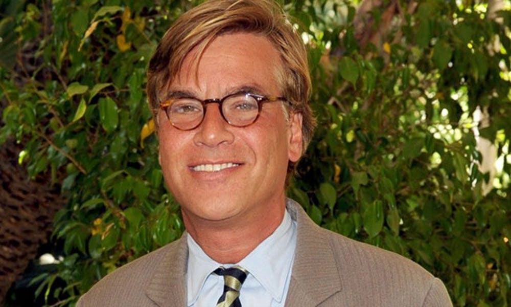 Aaron Sorkin penned the screenplay for the movie The Social Network.
