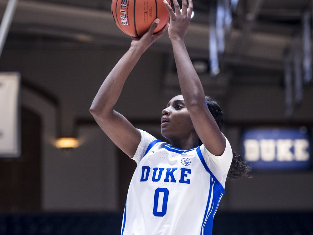 Sophomore Jaida Patrick notched a career-high 21 points as Duke cruised past Longwood.