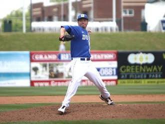 Nick Hendrix is one of several Blue Devil pitchers competing for the  final spot in the starting rotation as the regular season nears.