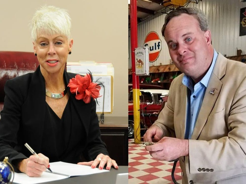 Incumbent Democrat Beth Wood (left) and Republican Tony Street (right) are the candidates for N.C. State Auditor.
