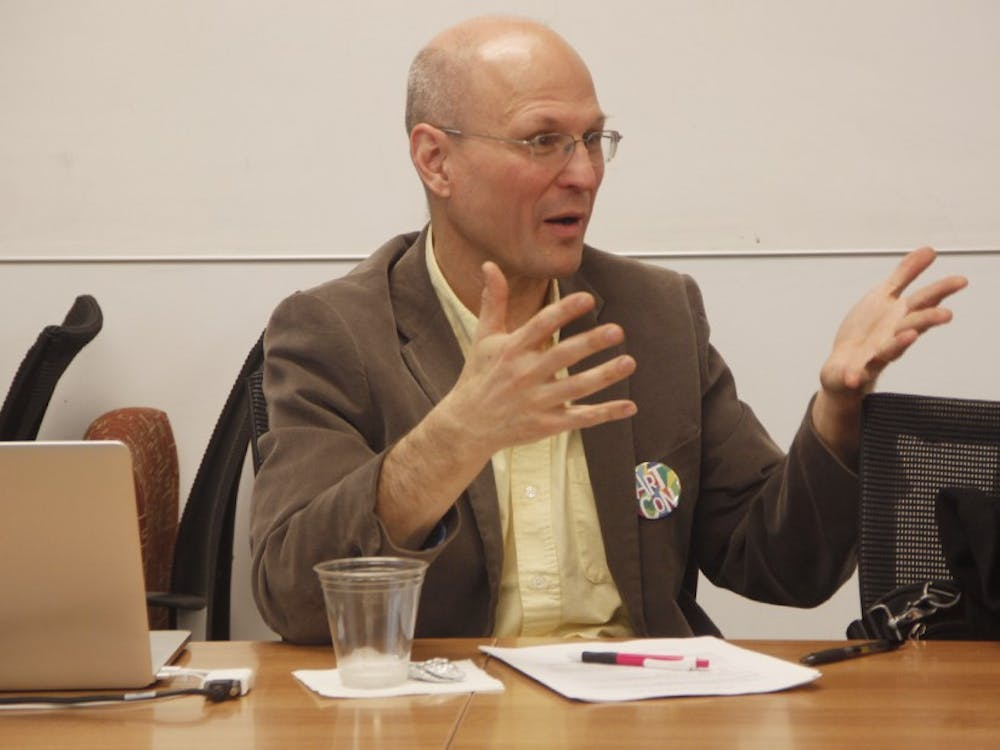 Scott Lindroth (above) is the vice provost for the arts at Duke.