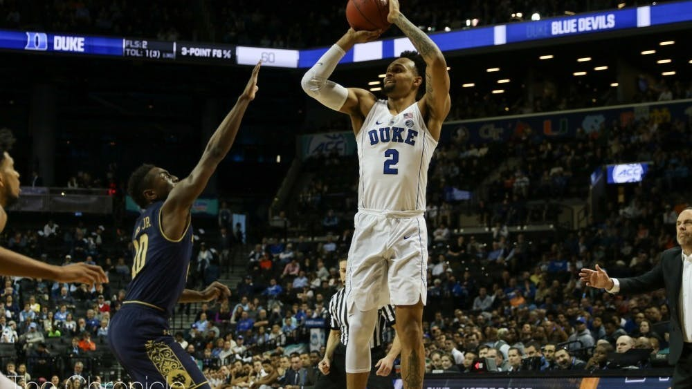Gary Trent Jr. is among several Blue Devils who have had success early on in the NBA bubble.