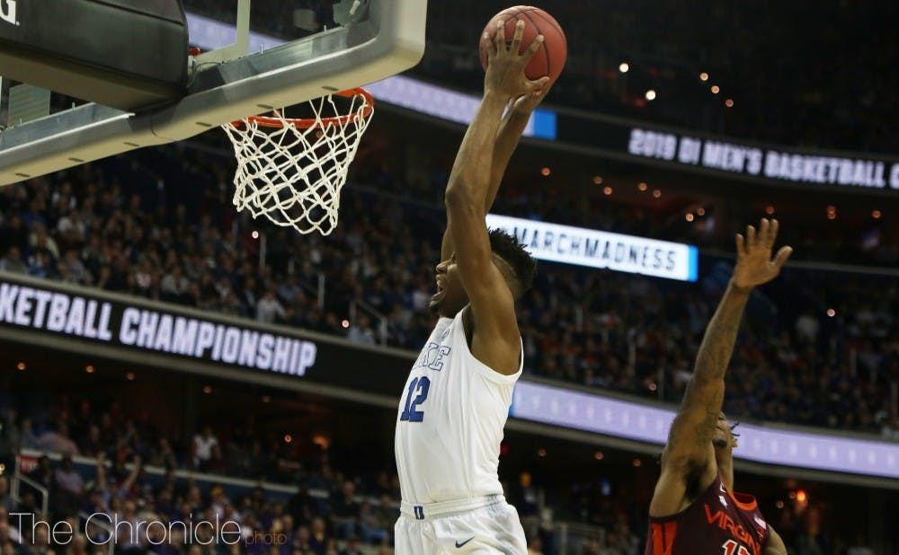 <p>Javin DeLaurier was the only non-freshman to score against Michigan State with 10 points Sunday evening.</p>