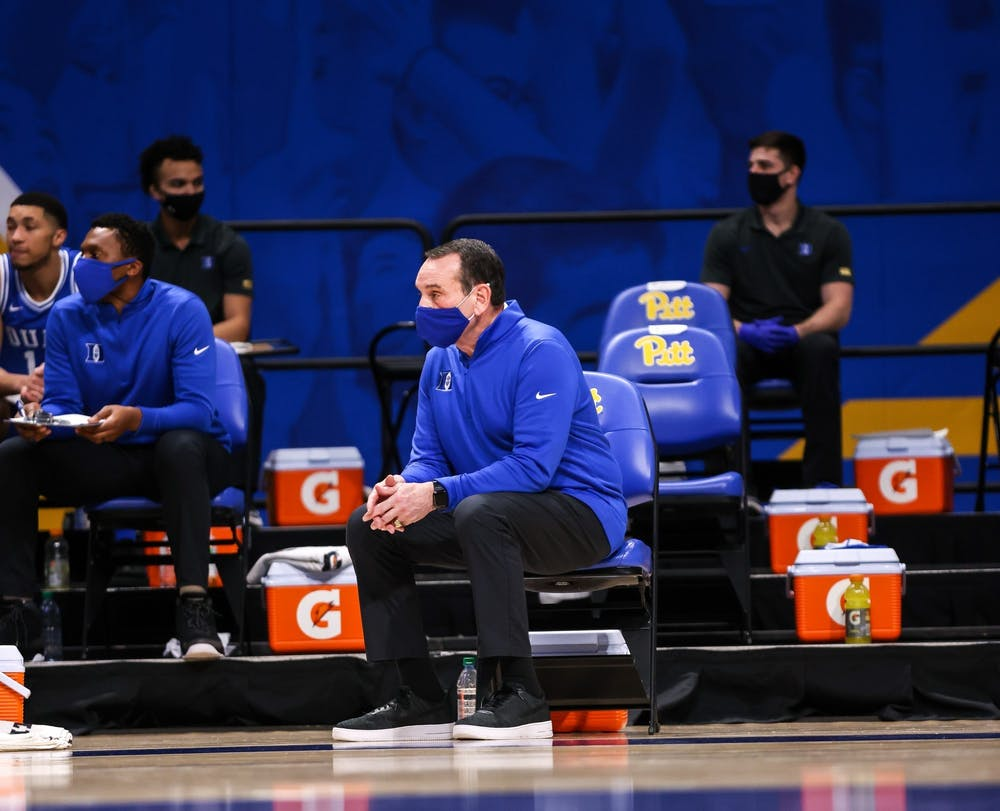 Head coach Mike Krzyzewski will once again have a tough nonconference slate before heading into ACC play.