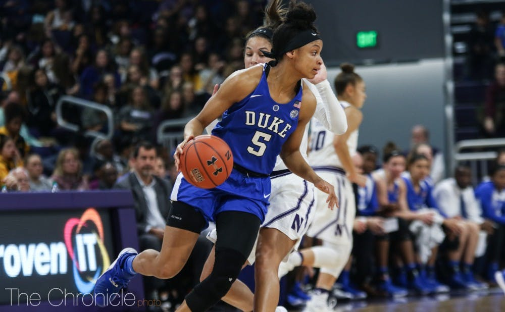 <p>Leaonna Odom broke out of a recent slump against Louisville.</p>