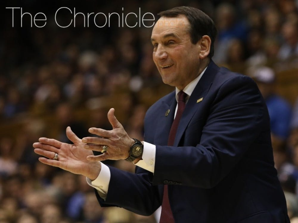 Mike Krzyzewski added another weapon to his 2020 recruiting class.