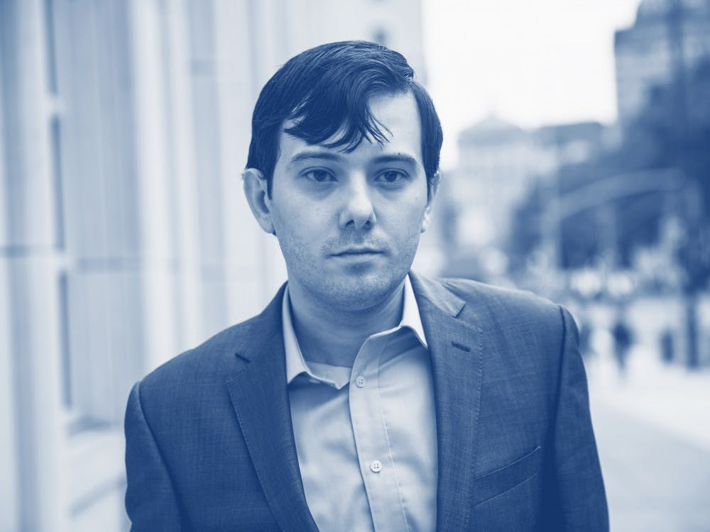 Martin Shkreli, former chief executive officer for Turing Pharmaceuticals AG, is a notorious track-leaker.