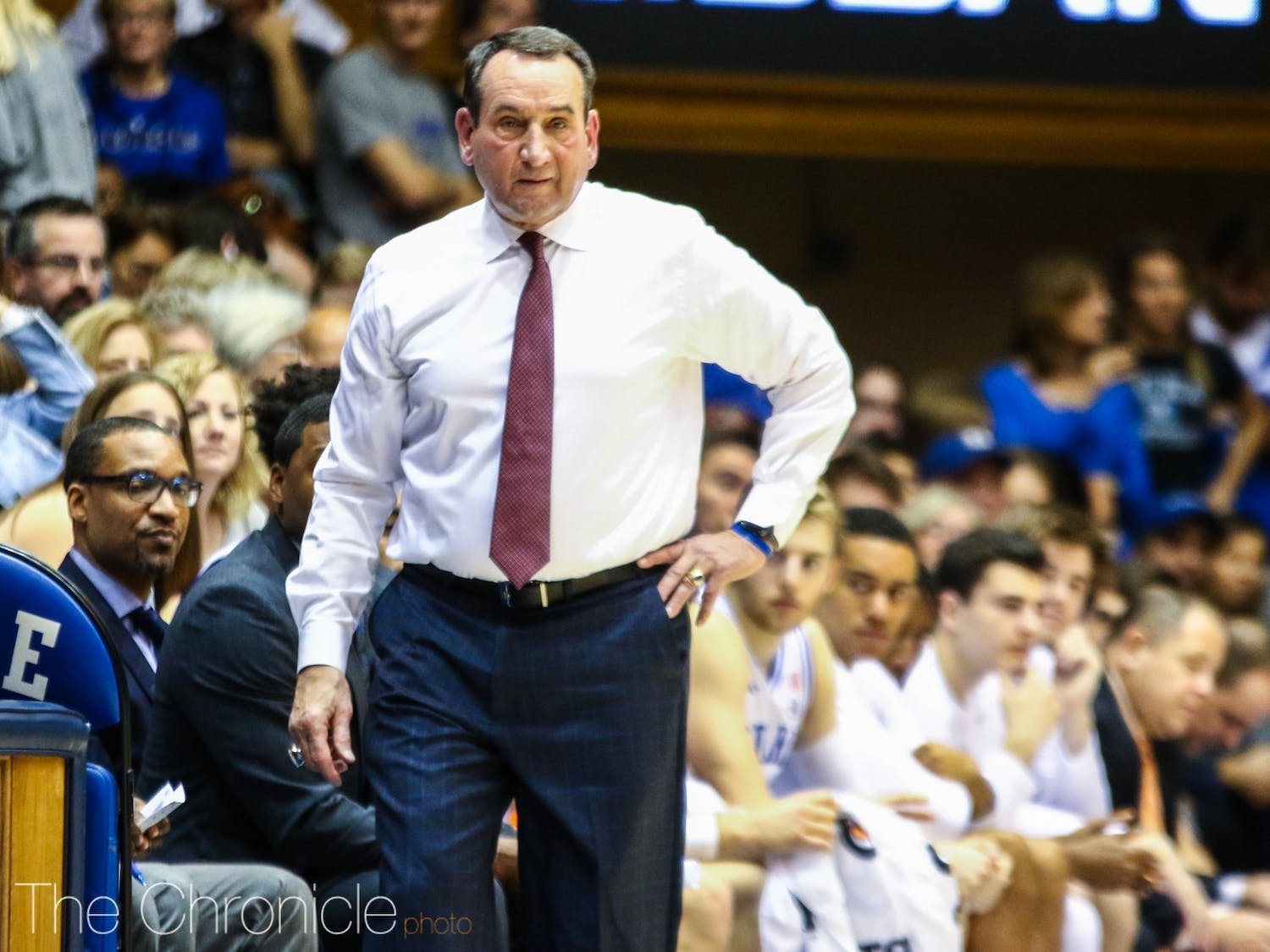 Head coach Mike Krzyzewski and the Blue Devils lost a key piece Thursday afternoon.