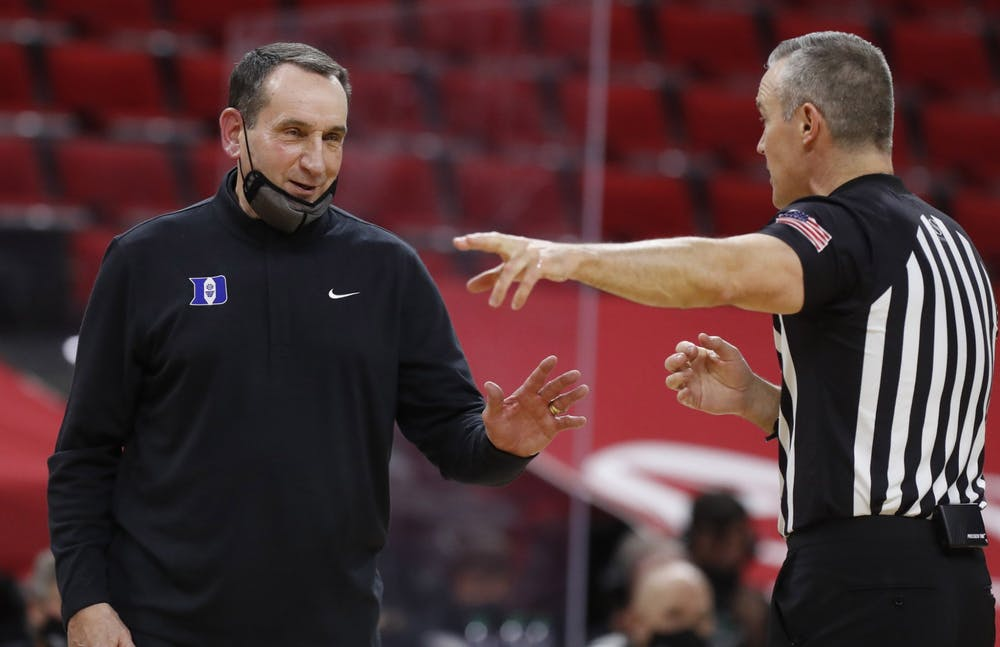 <p>The Blue Devils haven't missed the NCAA tournament since 1995, when Mike Krzyzewski missed the final 19 games of the season.</p>