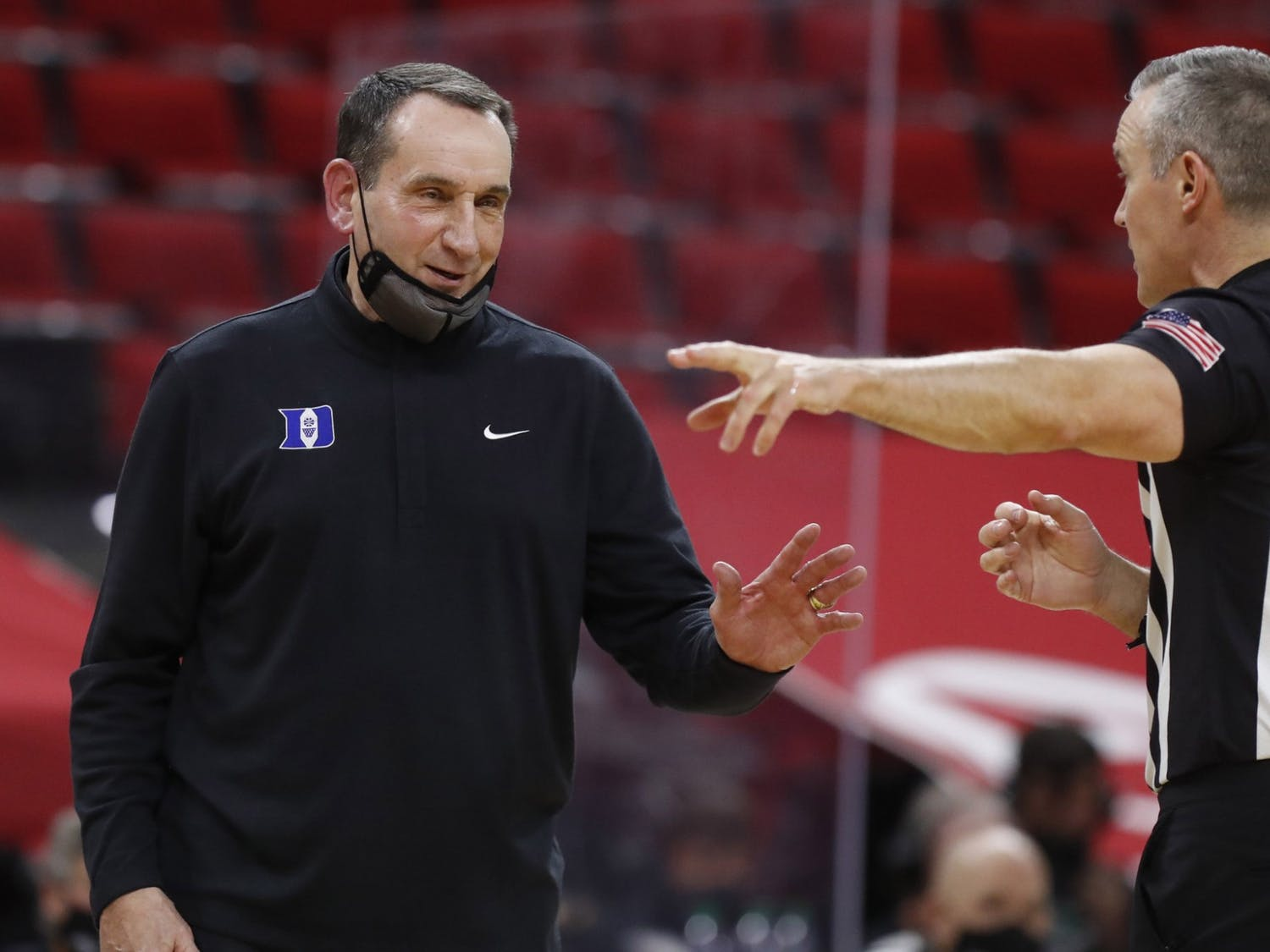 The Blue Devils haven't missed the NCAA tournament since 1995, when Mike Krzyzewski missed the final 19 games of the season.