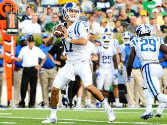 Daniel Jones had a breakout game in South Bend to help Duke secure the upset victory.