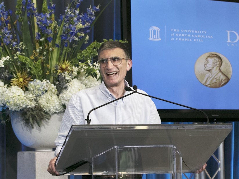 Robert Lefkowitz won the Nobel Prize in chemistry in  October 2012.