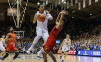 Tre Jones played the best game off his young career Monday night.