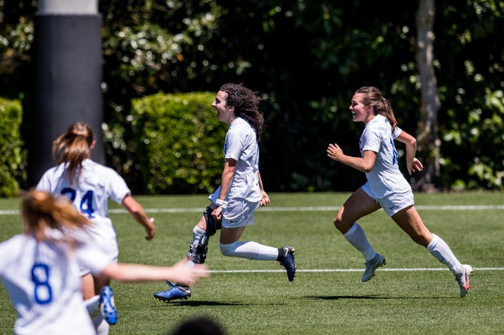 Sophomore Sophie Jones found the back of the net in double-overtime to give Duke the win.