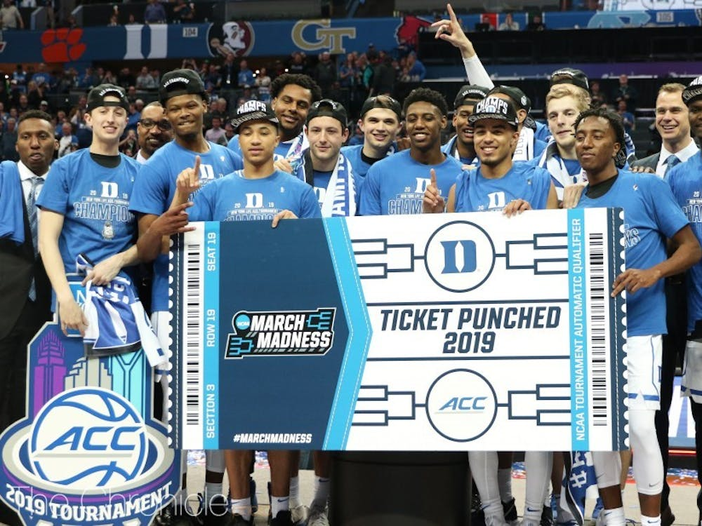 The Blue Devils will look to repeat as champions in an empty Greensboro Coliseum starting Thursday.
