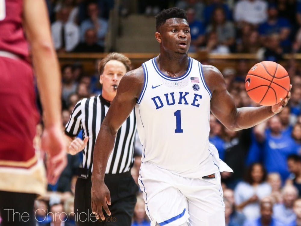 Williamson performed exceptionally well in limited action before the season stoppage, adding to the hype generated from his time at Duke.