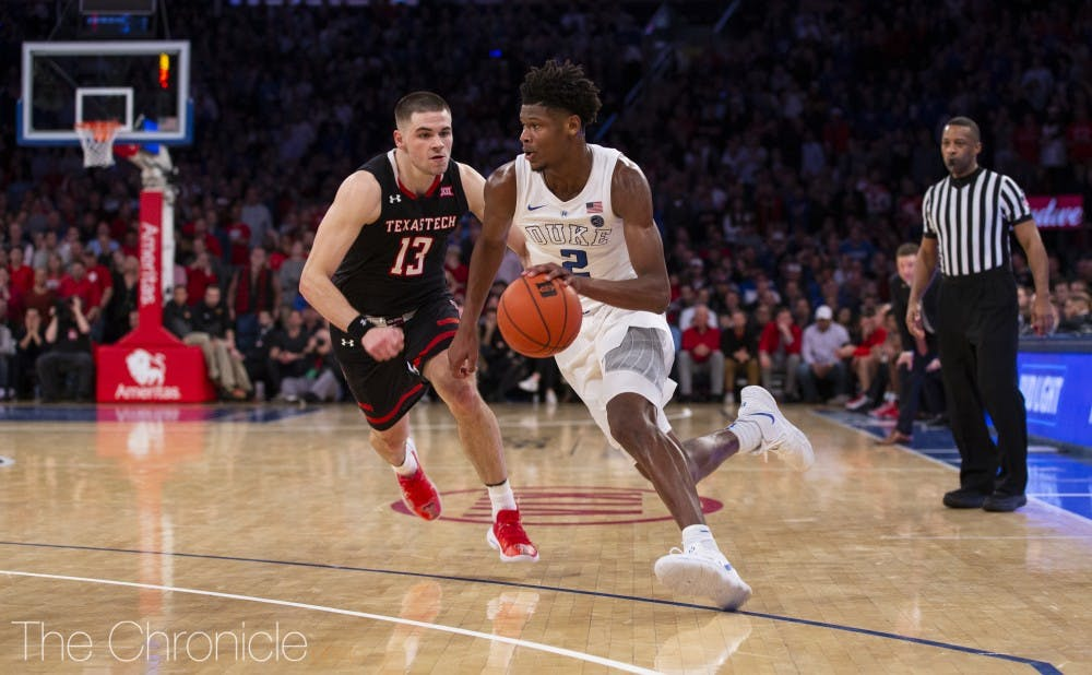 596190ce28cb  Killer Cam   Clutch 3-pointers for Cam Reddish becoming a pattern for Duke  men s basketball