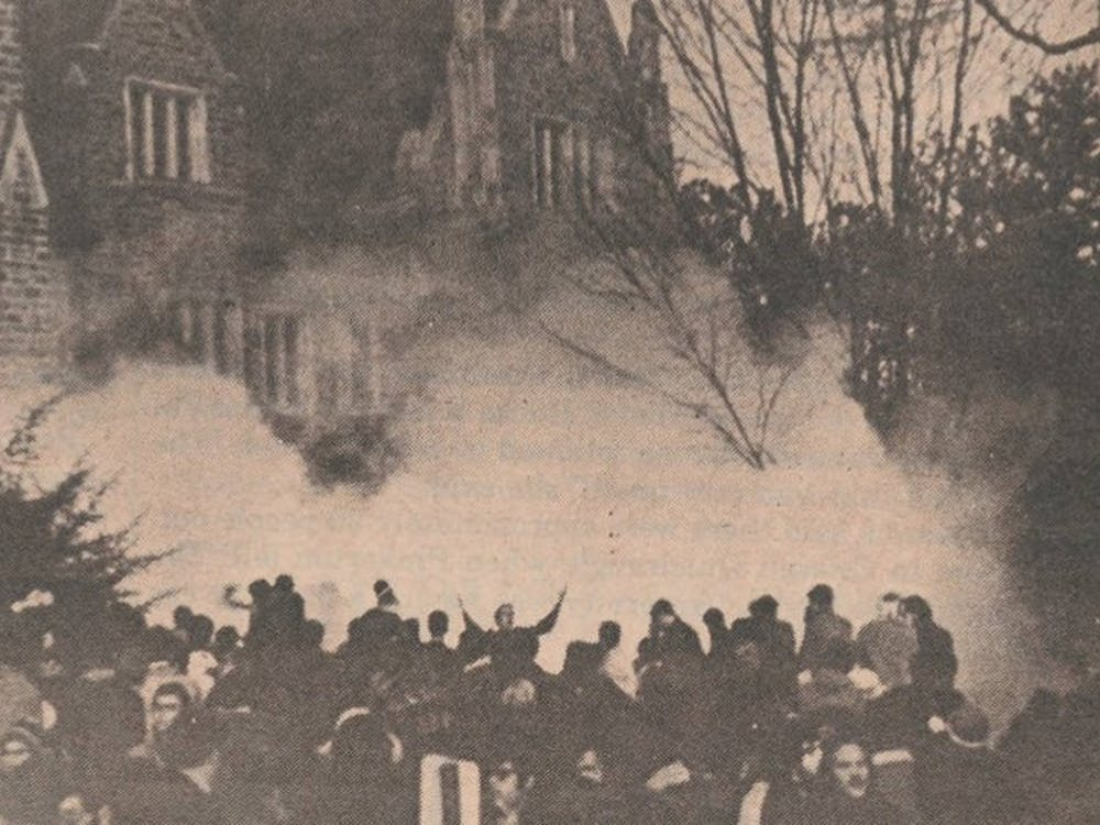 About 75 students organized by the Afro-American Society were met with tear gas after occupying the Allen Building for 10 hours on Feb. 13, 1969.