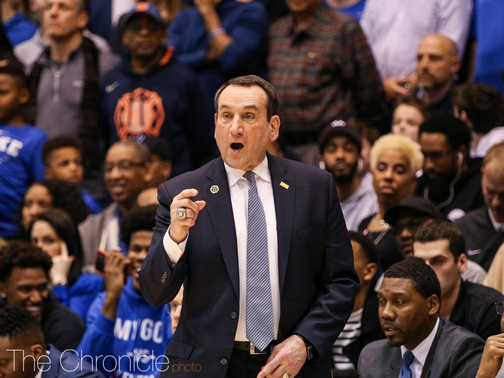 <p>Mike Krzyzewski's disciples are constantly growing as his former guards become coaches.</p>