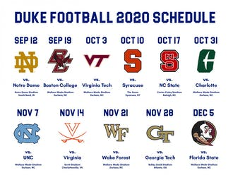 With two bye weeks, 10 conference matchups and only one nonconference affair, the Blue Devils are faced with an unconventional slate of games.