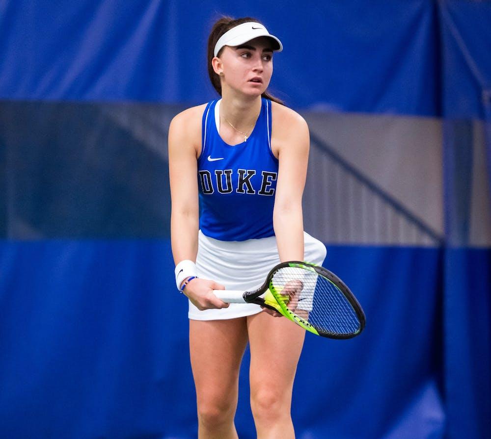 Karolina Berankova enters the season ranked as the No. 6 freshman in the country by the ITA.