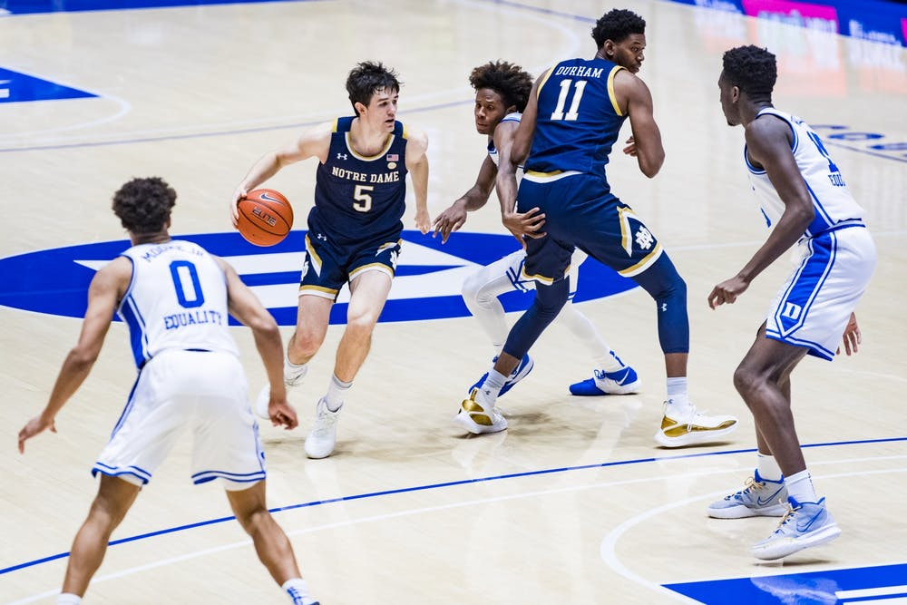 Duke struggled with communication on the defensive end all game.