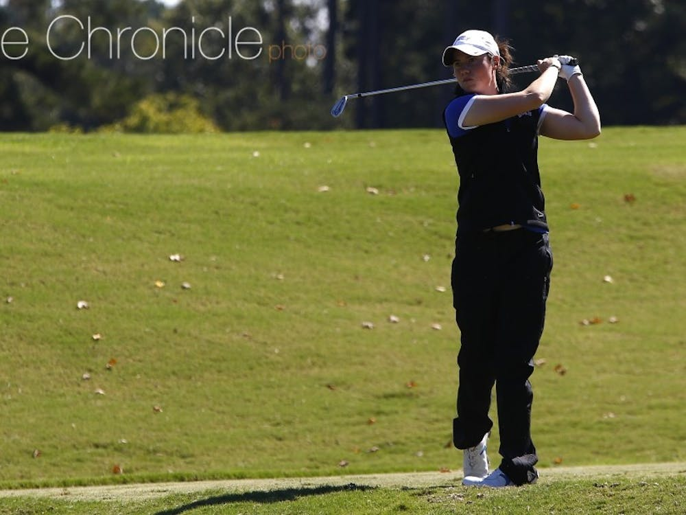 Leona Maguire and the Blue Devils will try to get back on track on the unfamiliar University Club course in Baton Rouge, La.
