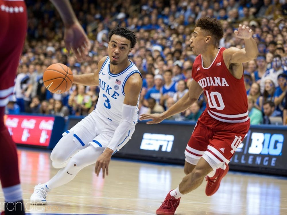 Tre Jones and the Blue Devils have their full slate set.