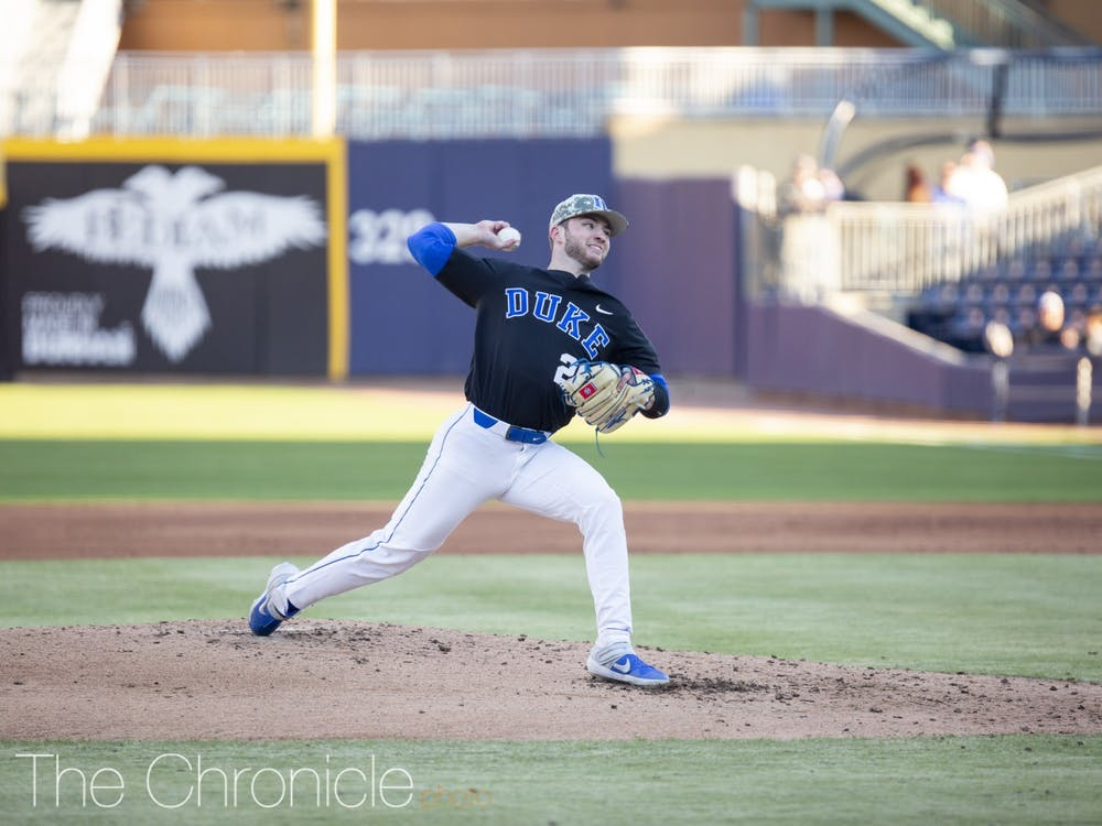Jarvis finished with a 0.67 ERA and 40 strikeouts in 27 innings during the Blue Devils' shortened 2020 campaign.