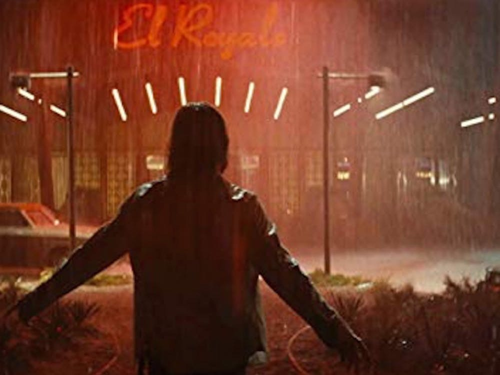 """Bad Times at the El Royale"" follows the only four customers at the once great El Royale motel, a lodge on the border of California and Nevada."