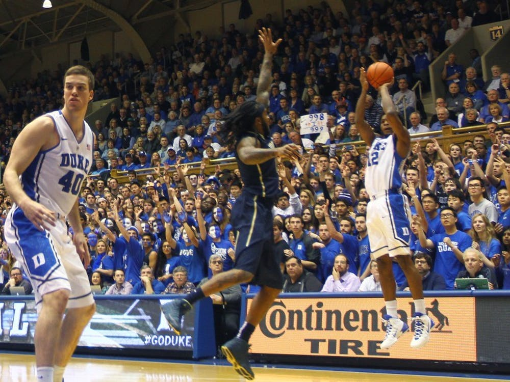 Justise Winslow will look to help Duke overcome the loss of Rasheed Sulaimon Saturday at No. 2 Virginia.
