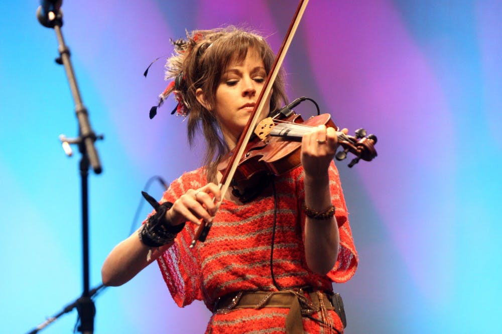 <p>Violinist&nbsp;Lindsey Stirling known for embracing EDM stylings&nbsp;into her music&nbsp;will be performing at the DPAC July 18.&nbsp;</p>