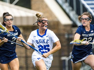 Graduate senior Gabby Rosenzweig is leading the Blue Devils in points with 34.