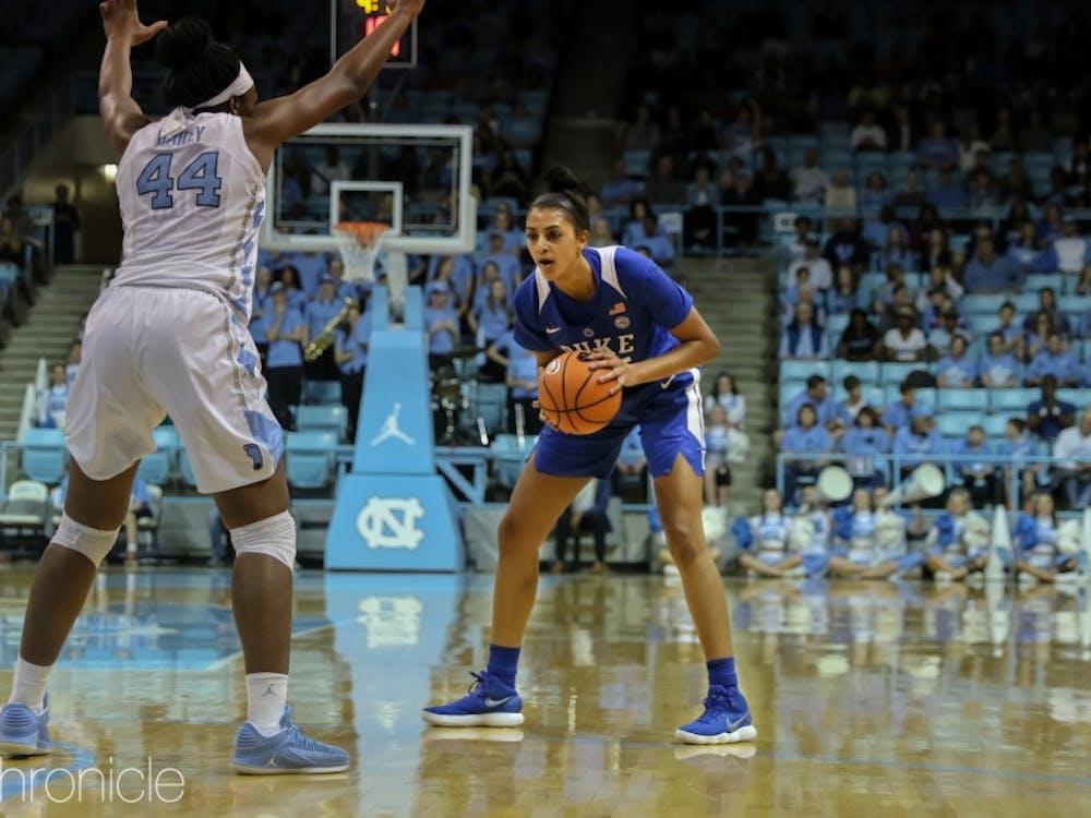 Jade Williams will anchor the Duke frontcourt during her junior season.