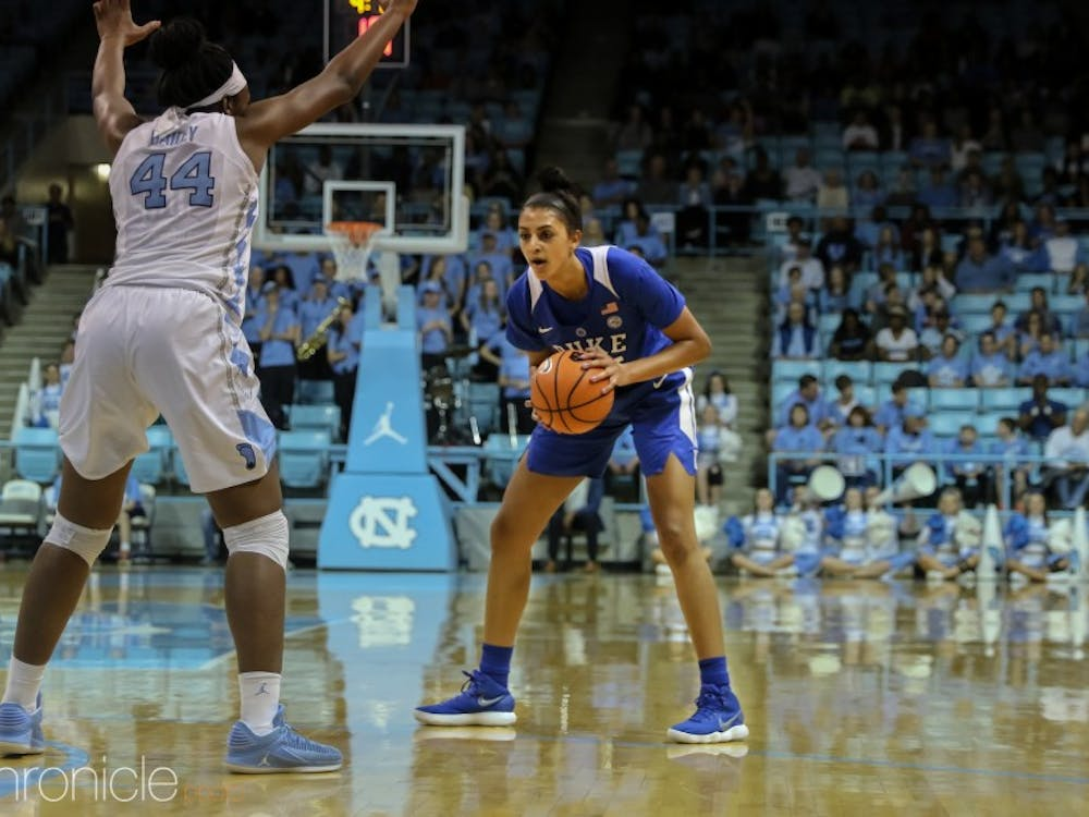 Jade Williams will anchor the Duke frontcourt during her junior season.