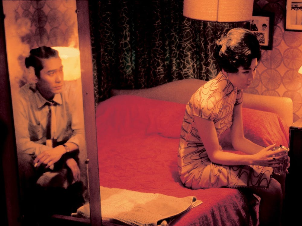 "Wong Kar-wai's 2000 film ""In the Mood for Love"" tells the story of a man and a woman whose spouses have an affair together and who slowly develop feelings for each other."
