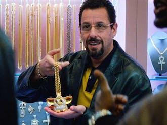 "In ""Uncut Gems,"" Adam Sandler plays an unlucky jewelry salesman."