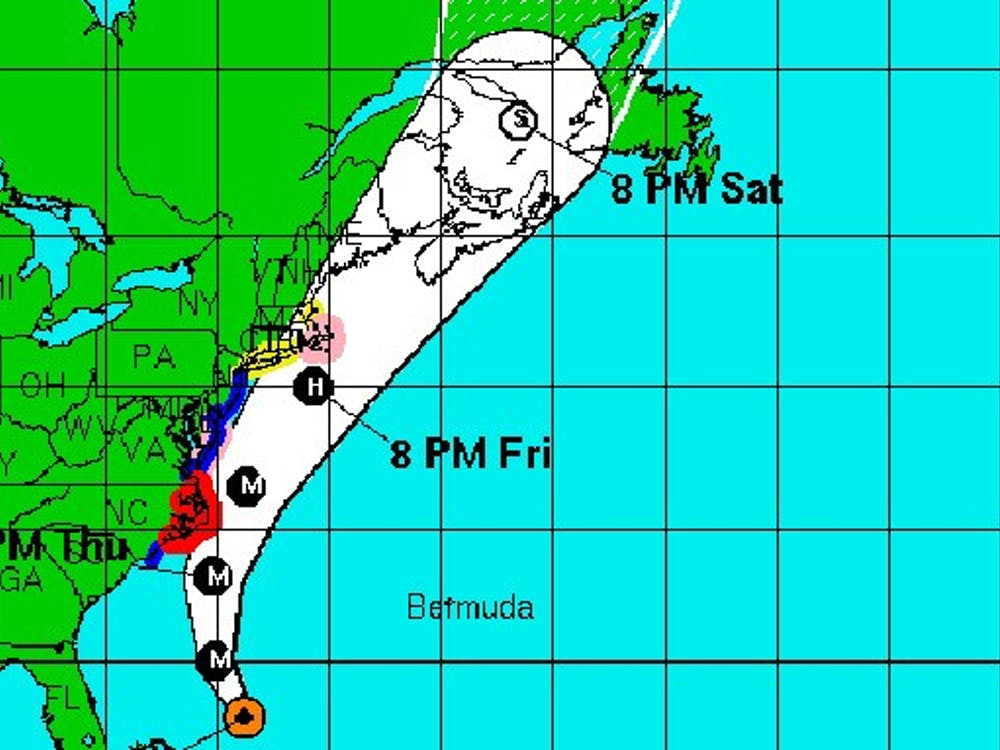With the impending arrival of Hurricane Earl, the Duke University Marine Lab in Beaufort will be evacuated by 2 p.m. this afternoon.