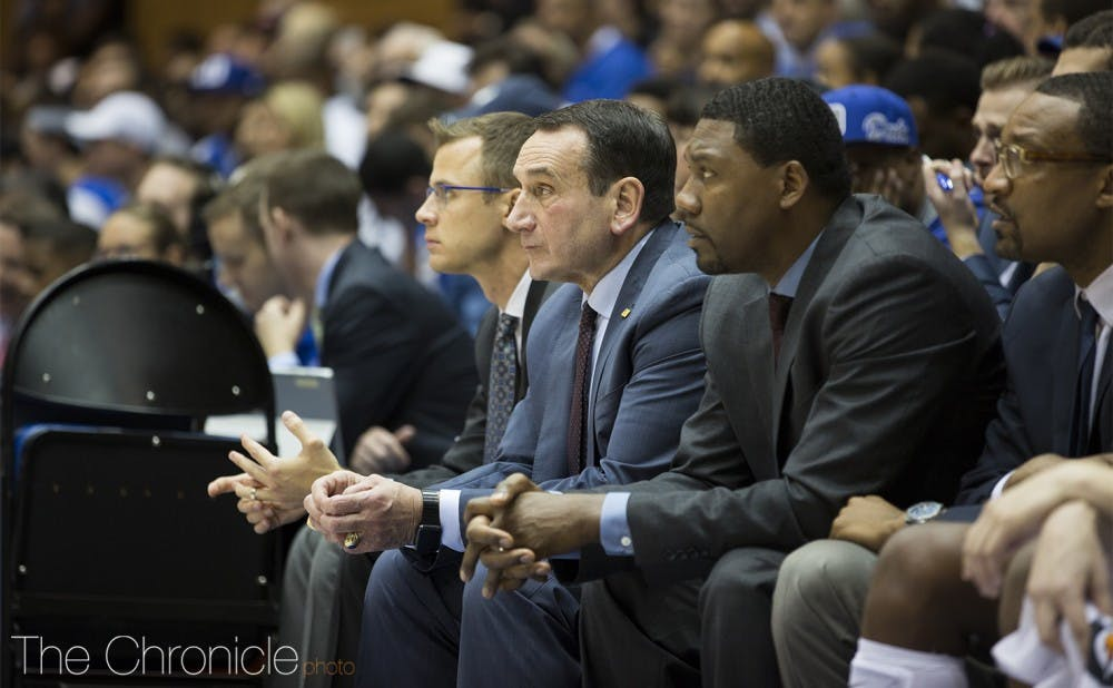 Coach K and the rest of the coaching staff will get an advanced look at how this year's group fares against top-level competition.