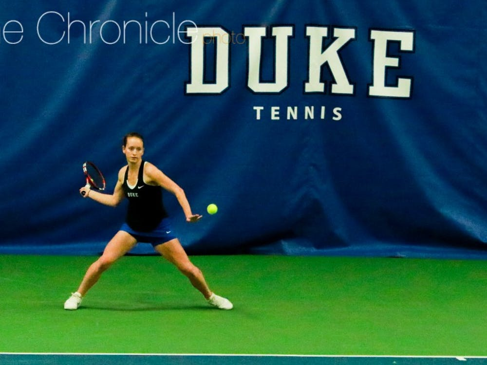 Chalena Scholl and the Blue Devils will need to pull off an upset to advance at the national team indoor championships this weekend.