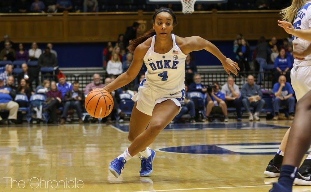 <p>Lexie Brown scored all 14 of her points Sunday in the second half.</p>