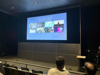Last Thursday, the AMI program put on the 2019 Student Film Festival in the Rubenstein Arts Center.