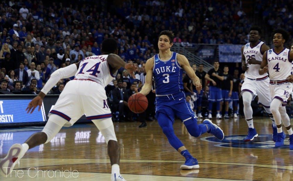 116c22c37 Duke men s basketball 2017-18 player review  Grayson Allen - The ...