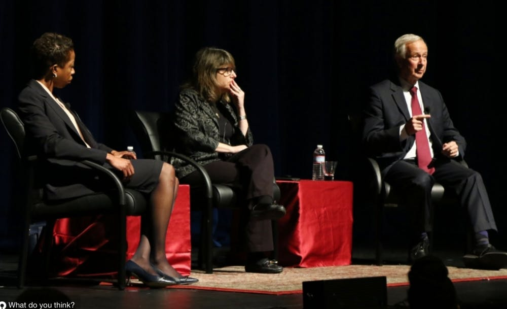 <p>President Richard Brodhead and Provost Sally Kornbluth sent an email to the Duke community Tuesday, updating them on the&nbsp;implementation of the recommendations made by the Task Force on Bias and Hate Issues.&nbsp;</p>