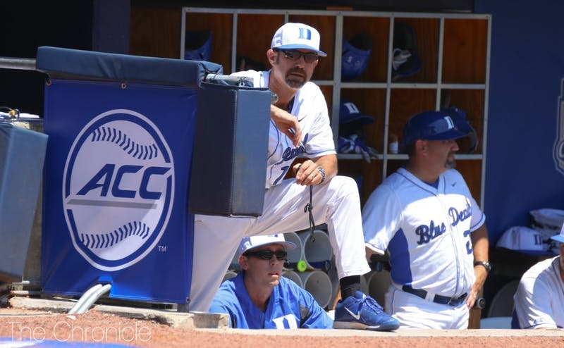 Don't fret about the future of Blue Devil baseball. Chris Pollard is sticking with Duke for at least seven more years.