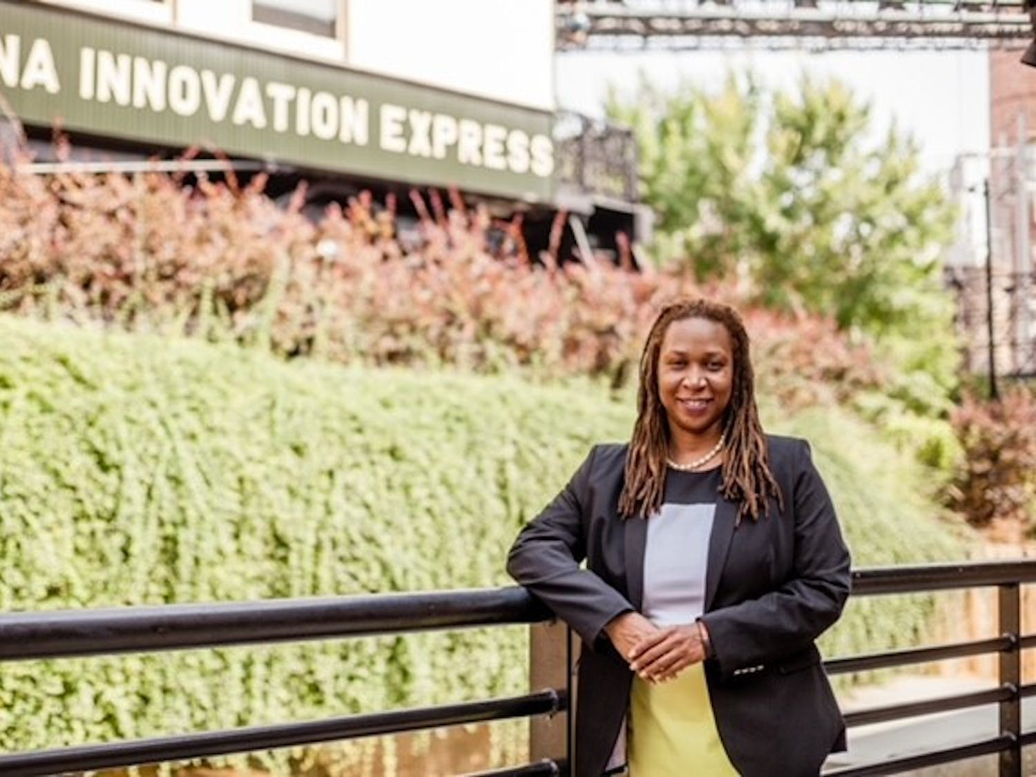 """If her election campaign is successful, Sabrina """"Bree"""" Davis will be the first female African-American mayor of Durham."""